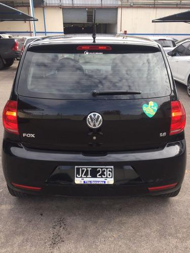 volkswagen fox 1.6 negro 3p