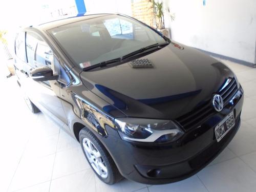 volkswagen fox 1.6 trendline 3 puertas año 2013 negro