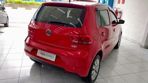 volkswagen fox 1.6 trendline msi único dono 2016 vermelho