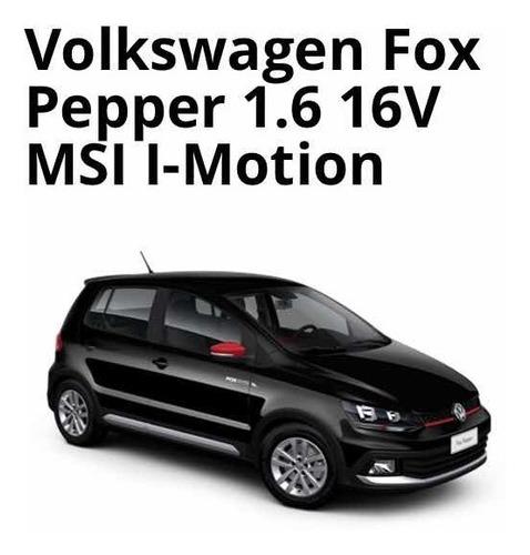 volkswagen fox 2017 1.6 pepper