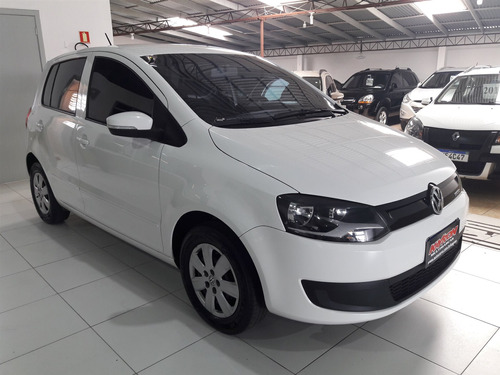 volkswagen fox bluemotion 1.6 completo banco couro placa i
