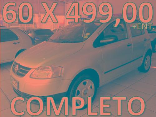 volkswagen fox flex completo entrada + 60 x 499,00 fixas