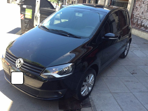 volkswagen fox highlan  automático color negro financio 50%