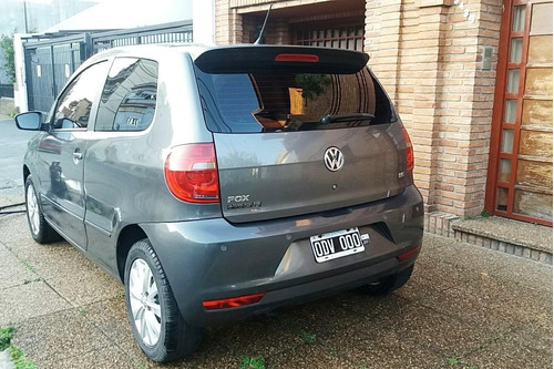 volkswagen fox highline 1.6  2014