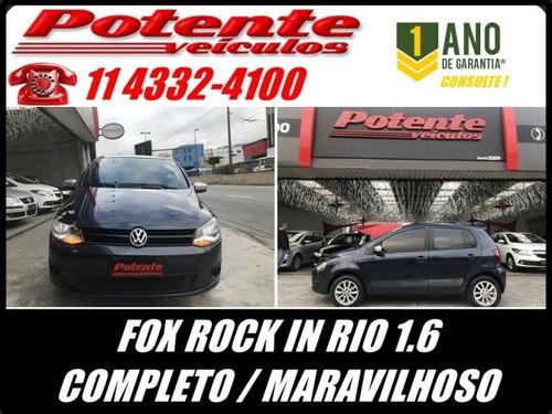 volkswagen fox rock in rio 1.6 mi 8v total flex, fac0572