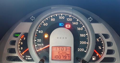 volkswagen fox sport 1.6 plateado cojinería cuero 100mil kms