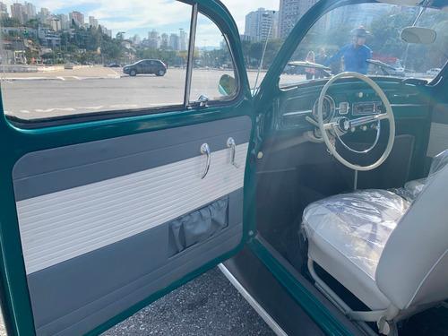 volkswagen fusca 1200 - ano1966  - placa preta pelo  fcb
