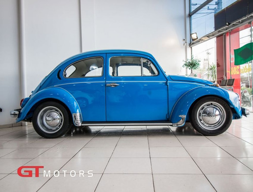 volkswagen fusca 1300 1974 azul gasolina