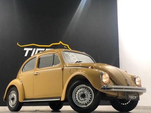 volkswagen fusca 1300 1978 bege 59.000km