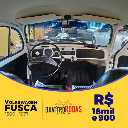 volkswagen fusca 1300 - ano 1977*