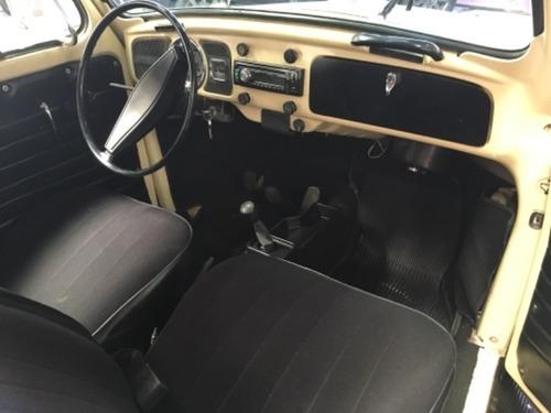 volkswagen fusca 1300 bege 1974