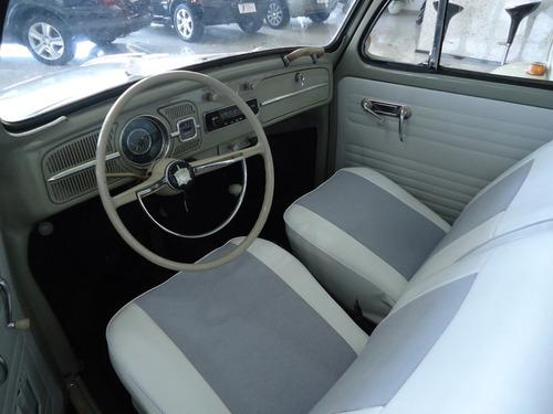 volkswagen fusca 1300 gasolina cinza 1965