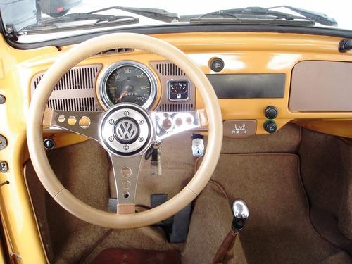 volkswagen fusca 1300 l (gasolina) 1978 marrom - 1978/1978