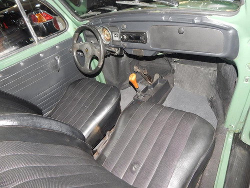 volkswagen fusca 1500 8v 2p c/ banco de couro ótimo estado