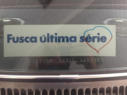 volkswagen fusca 1600 1986