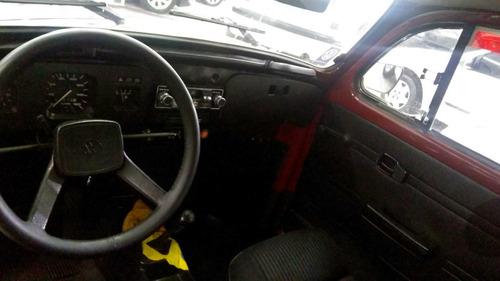 volkswagen fusca 1.600 ,1986,impecável,placa preta!!!