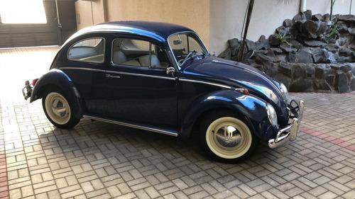 volkswagen fusca 1964 1.300 azul nápoles