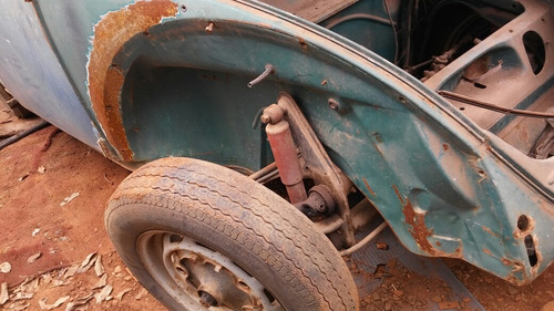 volkswagen fusca 1964 carroceria original excelente lata