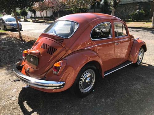 volkswagen fusca 1973 1500 placa preta