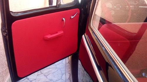 volkswagen fusca - ano 1969 - cor preto - filé!
