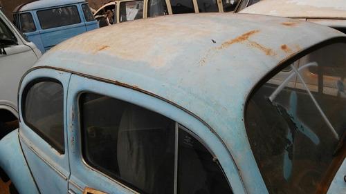 volkswagen fusca carroceria baixada no detran