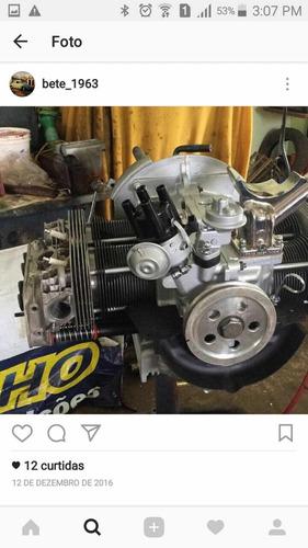 volkswagen fusca motor 1900 - motor com menos de 2000km