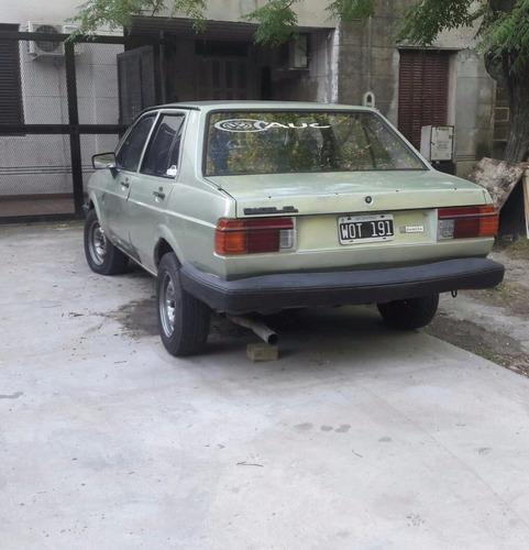volkswagen gacel 1989 nafta gas listo para transferir al dia