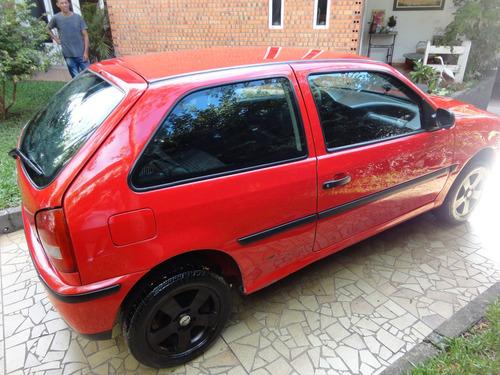 volkswagen gol 1.0 8v a alcool original 2004 vermelho novo!!