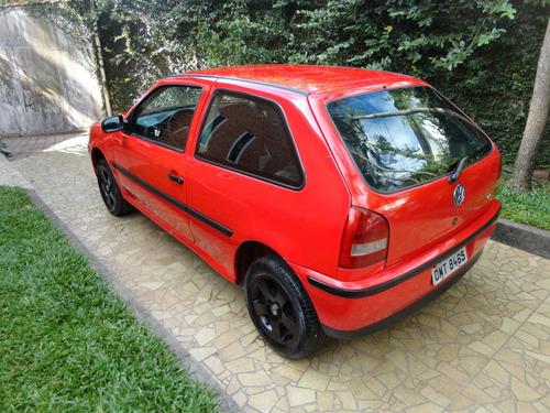 volkswagen gol 1.0 city 2p 2004 vermelho otimo estado rodas