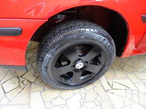 volkswagen gol 1.0 city 2p vermelho rodas 8v a alcool novo !