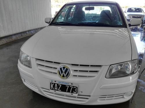 volkswagen gol 1.4 l 2011 color blanco