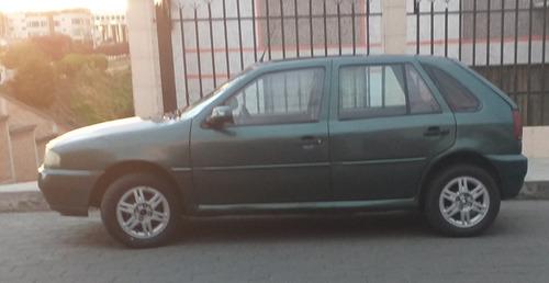 volkswagen gol 1,6 modelo 1999 automovil