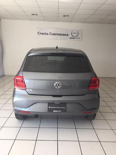 volkswagen gol 1.6 trendline 2018 cresta cuernavaca