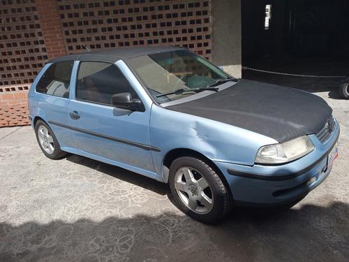 volkswagen gol 1.8  azul 2001
