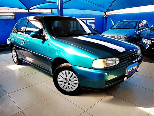 volkswagen gol 1.8 mi 8v 1996 verde gasolina
