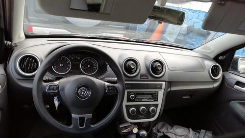 volkswagen gol 2011 mandos al volante rin 15 dueño 2 airbags
