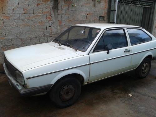 volkswagen gol bx 1600 1984 para restauro 2º dono