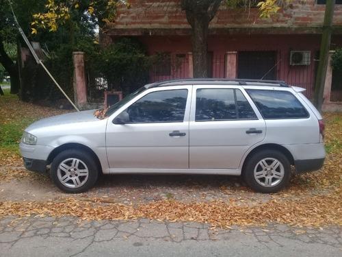 volkswagen gol country 1.6 gris plata 4 puertas 2006 178.000