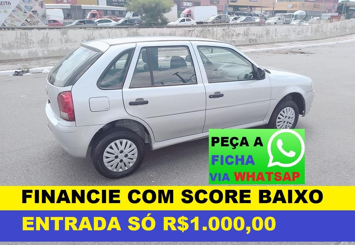 08dd49150c Volkswagen Gol Financiamento Com Score Baixo - R  18.900 em Mercado ...