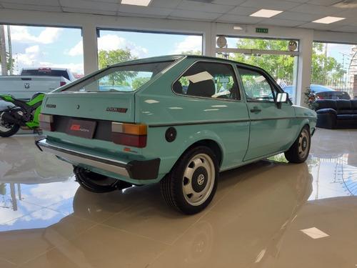 volkswagen gol g1 turbo 1985 ((gl motors))
