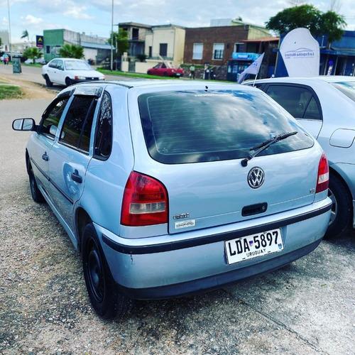 volkswagen gol g3 año 2002 1.6 nafta full