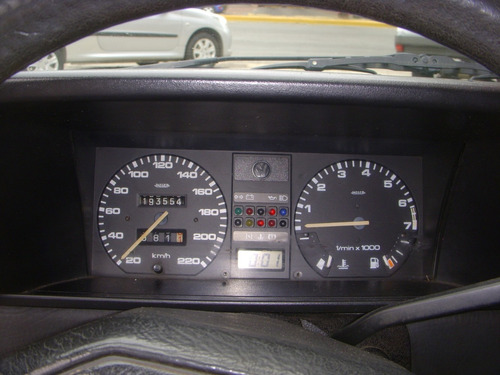 volkswagen gol gl 1.6 3p base 194000 km rojo 1994
