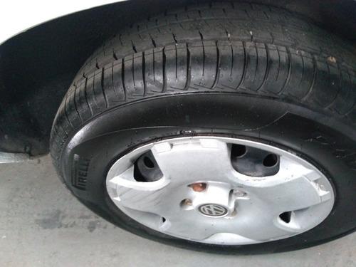 volkswagen gol gl 1.8 quadrado + pneus novos