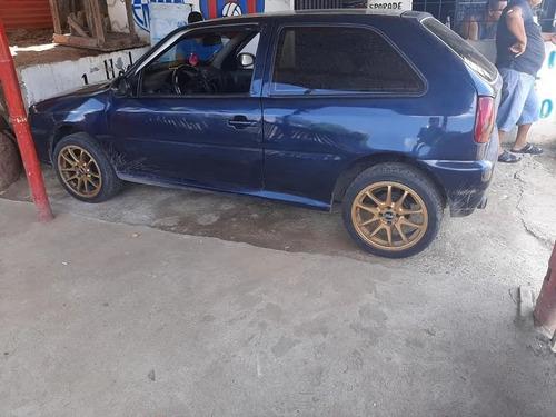 volkswagen gol motor 1.6 1998 azul 2 puertas