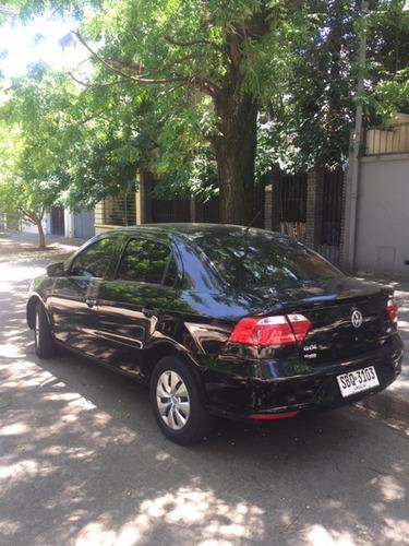 volkswagen gol power 1.6  5 puertas negro 2013