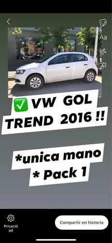 volkswagen gol trend 1.6 nafta pack 1