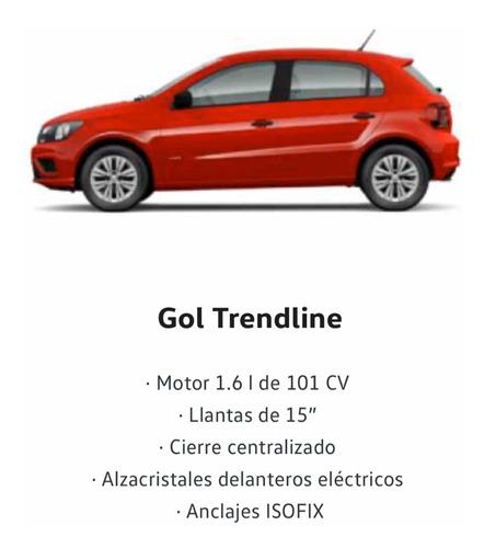 volkswagen gol trend 1.6 trendline 101cv 2019