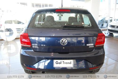 volkswagen gol trendline 5p 1.6 0km gris