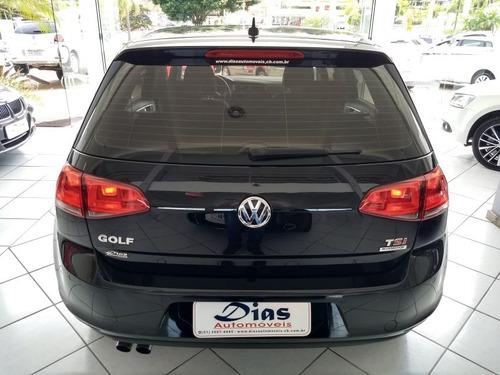 volkswagen golf 1.4 comfortline tsi 2014 preta gasolina