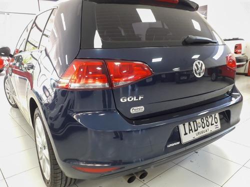 volkswagen golf 1.4 comfortline tsi 2015 azul - ref:1295